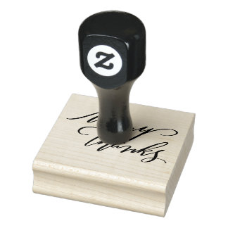Many Thanks Rubber Stamp