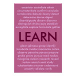 Many ways to learn posters