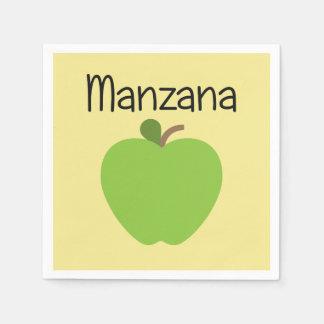 Manzana (Apple) Green Napkin