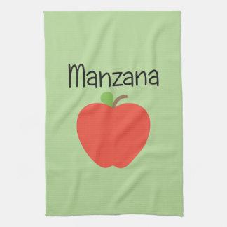 Manzana (Apple) Red Kitchen Towel