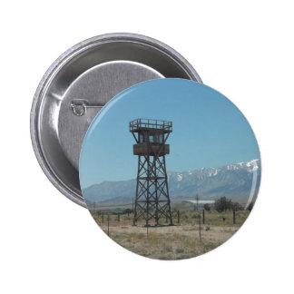 Manzanar War Memorial Guard Tower 2 Inch Round Button