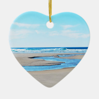 Manzanita Beach - Coastline Ceramic Ornament