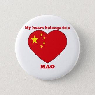 Mao 2 Inch Round Button