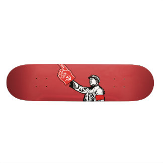 Mao - Communism is #1 Custom Skate Board