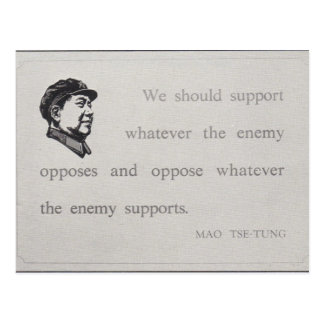 mao support postcard