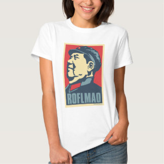 Mao Tse-Tung - ROFLMAO: OHP Ladies Top T Shirt