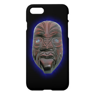 Maori Carved Mask iPhone 8/7 Case