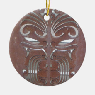 maori designs 4 ceramic ornament