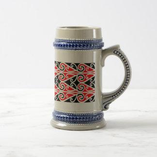 maori designs tribal art for you beer stein