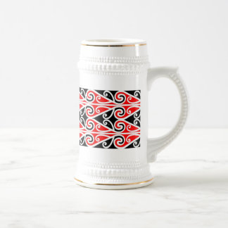 maori designs tribal art for you beer stein
