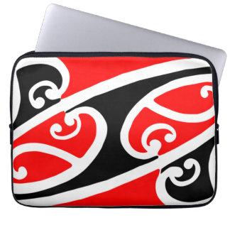 Maori Kowhaiwhai Pattern 2 Laptop Sleeve