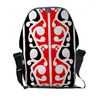Maori Kowhaiwhai Traditional Pattern Courier Bags