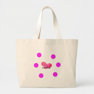 Maori Language of Love Design Large Tote Bag