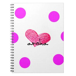 Maori Language of Love Design Notebook