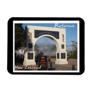 Maori living village Rotorua, New Zealand magnet