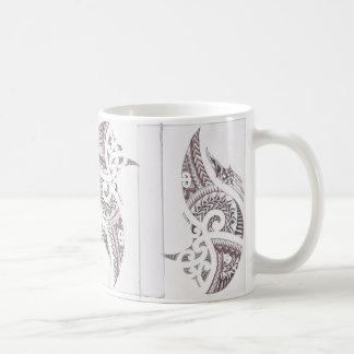 maori luxury designer 2 coffee mug