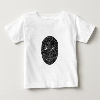 Maori Mask Scratchboard Baby T-Shirt