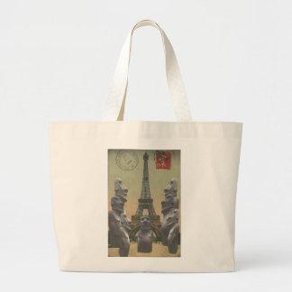Maori meets Paris Large Tote Bag