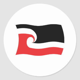 Maori People Flag Sticker
