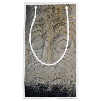 Maori Rock Carving Gift Bag