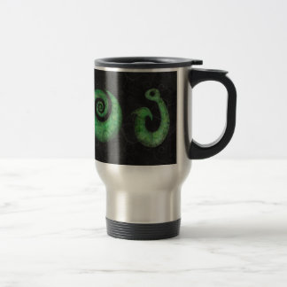 Maori symbols travel mug