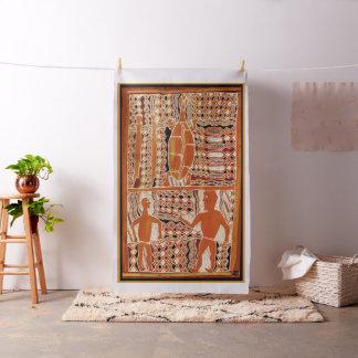 Maori Tribal Designer Fabric