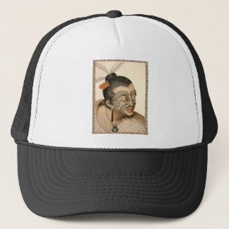 Maori Warrior about 1784 Trucker Hat