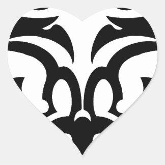 maoritournelle heart sticker