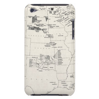 MAP: AMERICAN INDIANS 2 BARELY THERE iPod COVERS