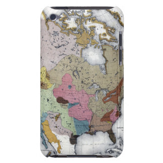 MAP: AMERICAN INDIANS 3 BARELY THERE iPod CASES