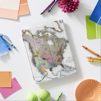 MAP: AMERICAN INDIANS 3 iPad COVER