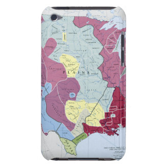 MAP: AMERICAN INDIANS BARELY THERE iPod COVER