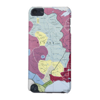 MAP: AMERICAN INDIANS iPod TOUCH (5TH GENERATION) CASE