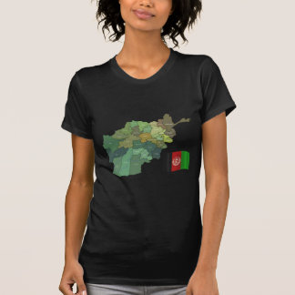 Map and Flag of Afghanistan T-Shirt