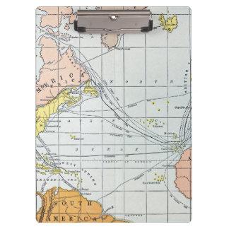 MAP: ATLANTIC VOYAGES CLIPBOARDS