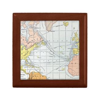 MAP: ATLANTIC VOYAGES GIFT BOX