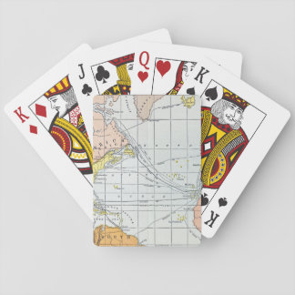 MAP: ATLANTIC VOYAGES PLAYING CARDS