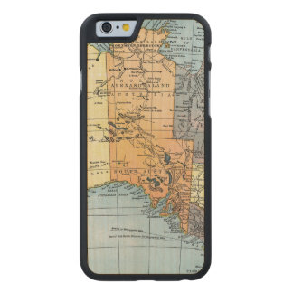 MAP: AUSTRALIA, c1890 Carved® Maple iPhone 6 Slim Case
