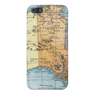MAP: AUSTRALIA, c1890 iPhone 5 Case