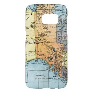 MAP: AUSTRALIA, c1890 Samsung Galaxy S7 Case