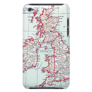 MAP: BRITISH ISLES, c1890 Case-Mate iPod Touch Case