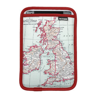MAP: BRITISH ISLES, c1890 iPad Mini Sleeves