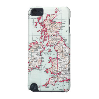 MAP: BRITISH ISLES, c1890 iPod Touch 5G Covers