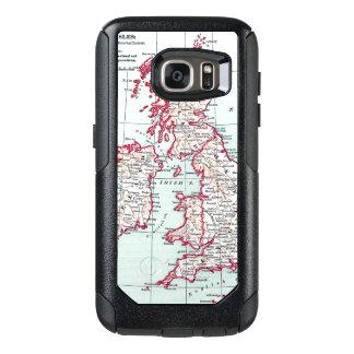 MAP: BRITISH ISLES, c1890 OtterBox Samsung Galaxy S7 Case