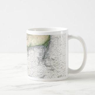 Map Cape Cod, Nantucket, Martha's Vineyard Coffee Mug