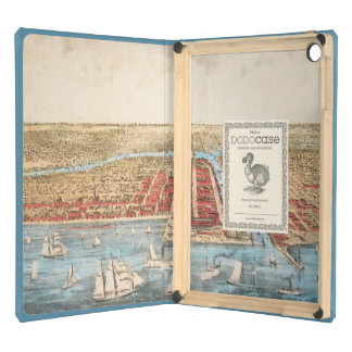 MAP: CHICAGO, c1857 Cover For iPad Air