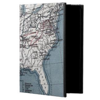 MAP: CIVIL WAR, 1861 iPad AIR CASE