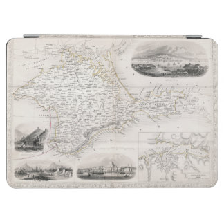 MAP: CRIMEA, c1855 iPad Air Cover
