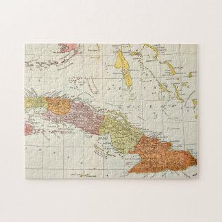 MAP: CUBA, 1900 JIGSAW PUZZLE