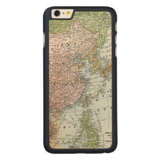 MAP: EAST ASIA, 1907 CARVED® MAPLE iPhone 6 PLUS CASE